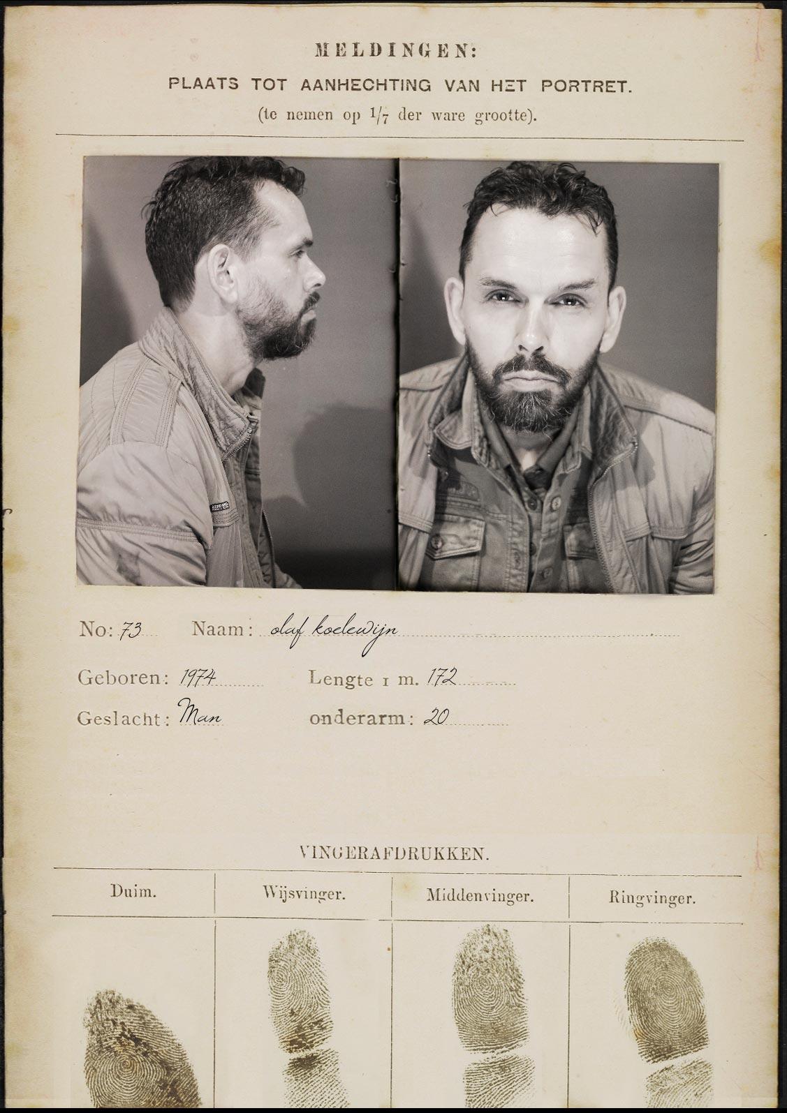 Olaf Koelewijn – Documentaire maker – signalementskaart