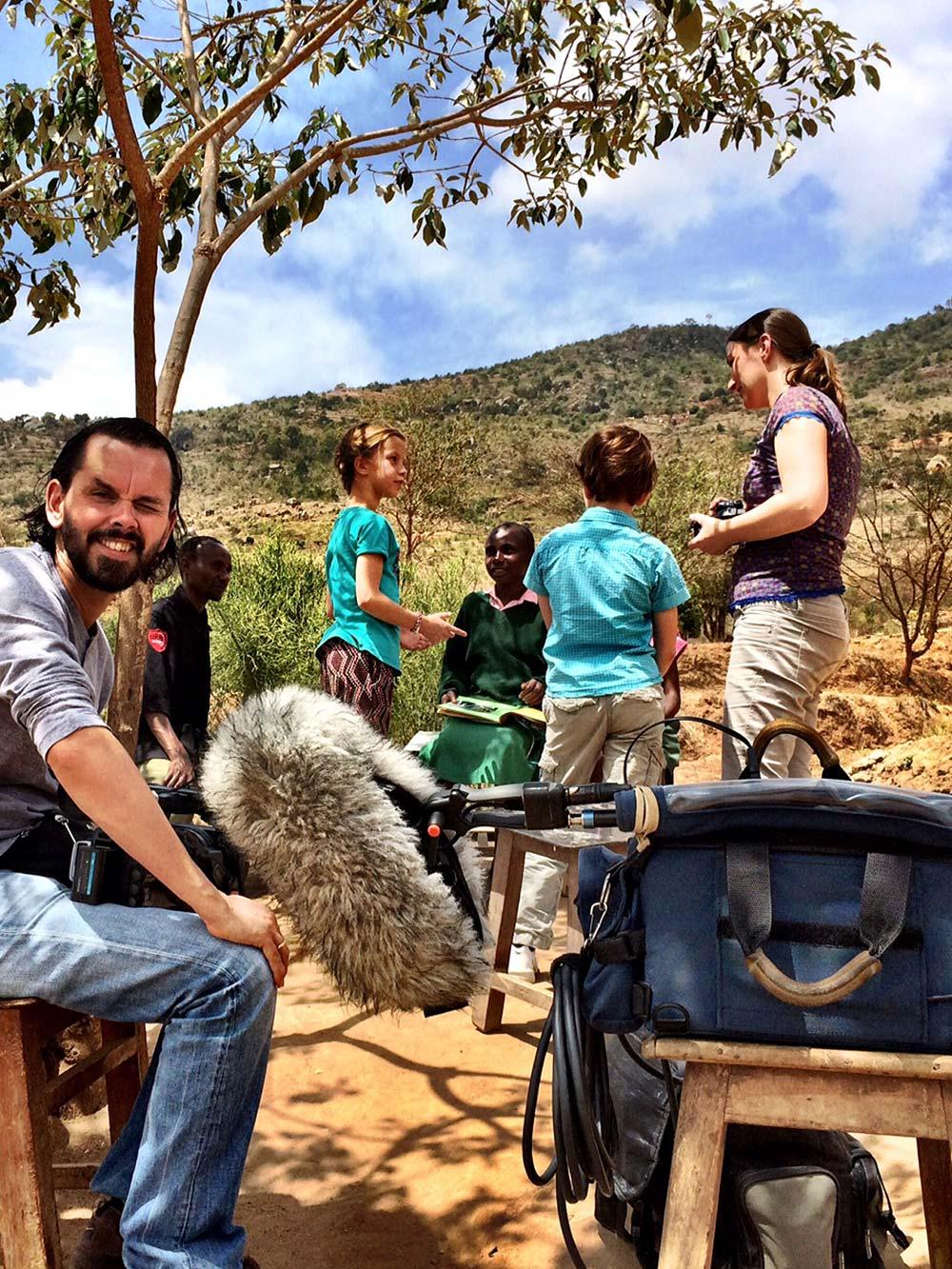 Papadag in Kenia - Documentaire - Olaf Koelewijn