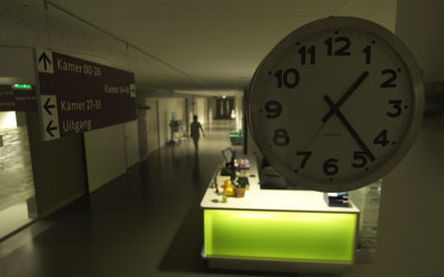 Werken in de stilte van de nacht